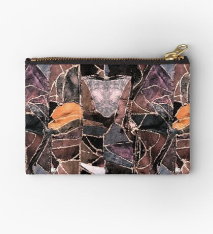 leather patches Studio Pouch