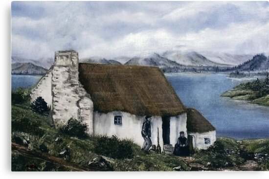 """Irish Cottage"" by Avril Brand"