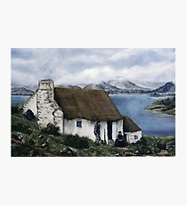 """Irish Cottage"" Photographic Print"