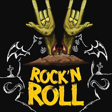 Rock'n Roll T-Shirt by Nortonrf