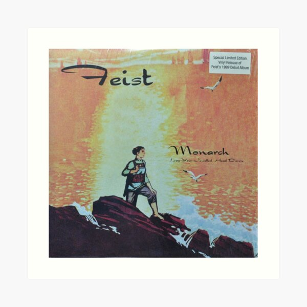 Feist - monarch - LP art fanart Art Print