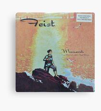 Feist - monarch - LP art fanart Metal Print