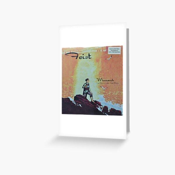 Feist - monarch - LP art fanart Greeting Card