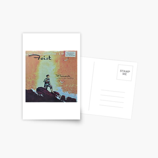 Feist - monarch - LP art fanart Postcard
