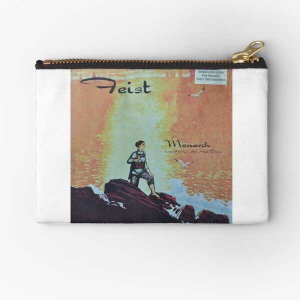 Feist - monarch - LP art fanart Zipper Pouch