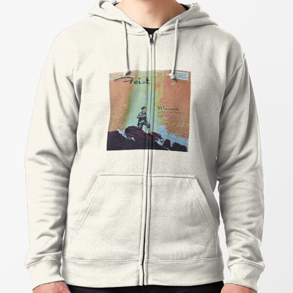 Feist - monarch - LP art fanart Zipped Hoodie