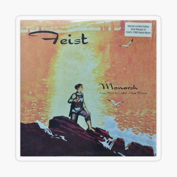 Feist - monarch - LP art fanart Transparent Sticker