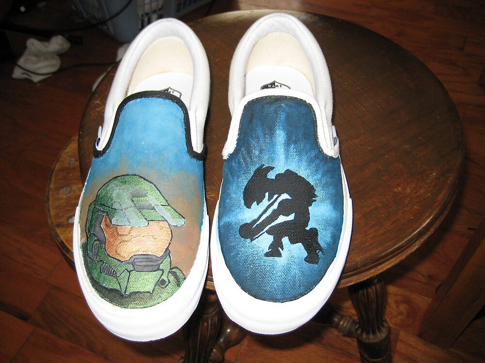 Halo Shoes by RoboBarb