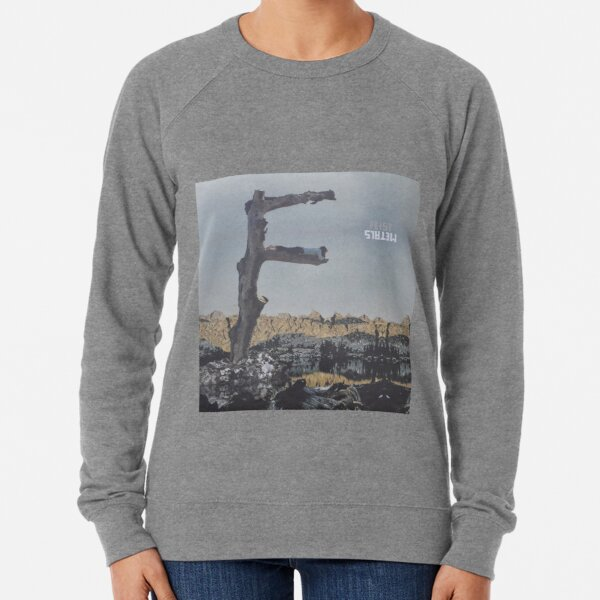 Feist - metals vinyl LP sleeve art - fanart Lightweight Sweatshirt