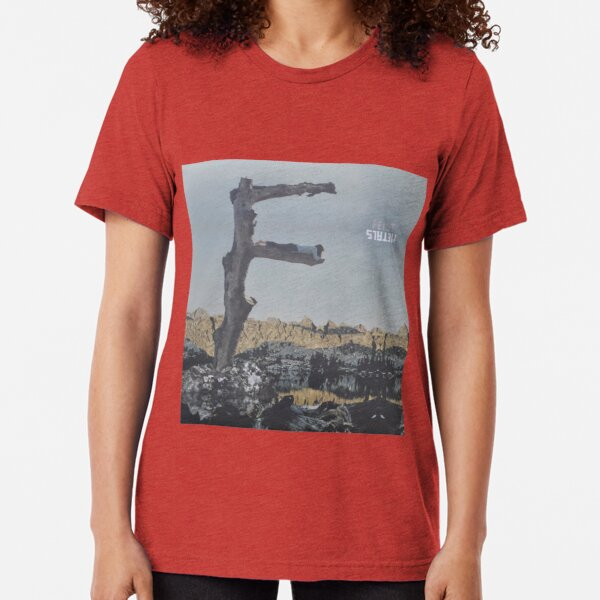 Feist - metals vinyl LP sleeve art - fanart Tri-blend T-Shirt