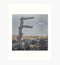 Feist - metals vinyl LP sleeve art - fanart Art Print