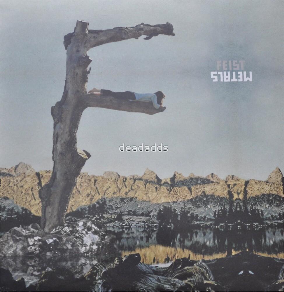 Feist - metals vinyl LP sleeve art - fanart by deadadds