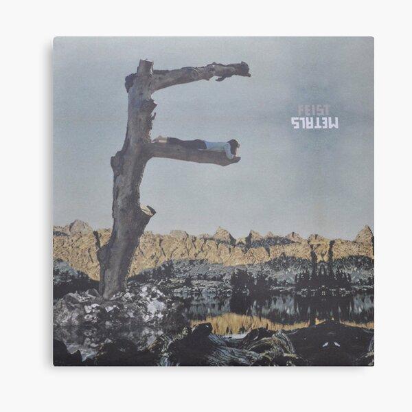 Feist - metals vinyl LP sleeve art - fanart Canvas Print