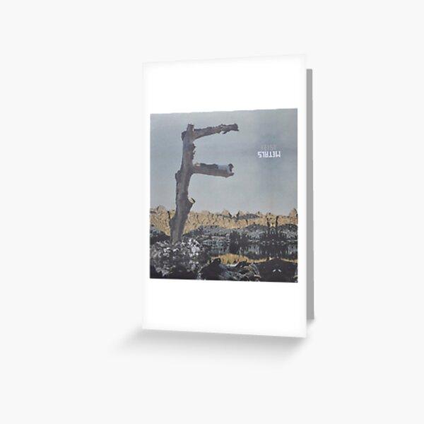 Feist - metals vinyl LP sleeve art - fanart Greeting Card