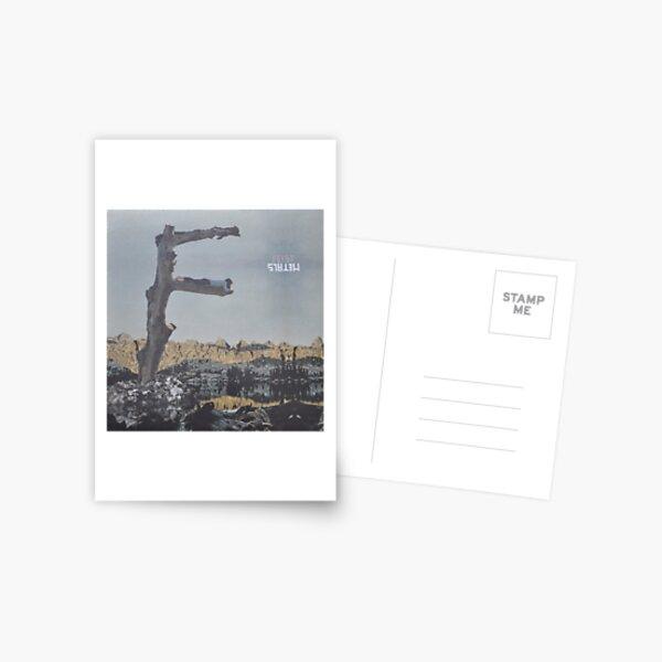 Feist - metals vinyl LP sleeve art - fanart Postcard