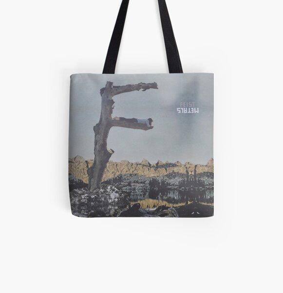 Feist - metals vinyl LP sleeve art - fanart All Over Print Tote Bag