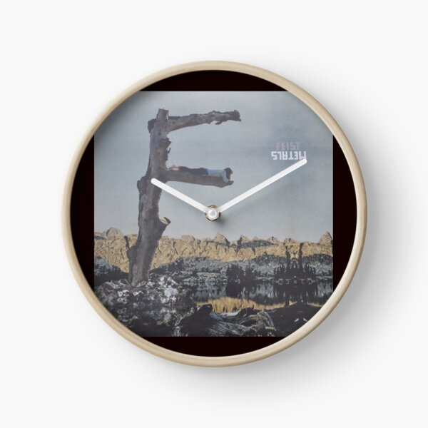 Feist - metals vinyl LP sleeve art - fanart Clock