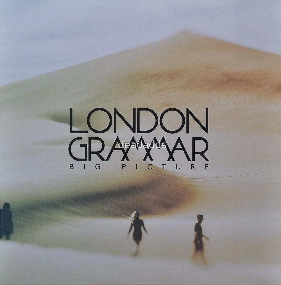 London grammar - big picture sleeve art - fanart by deadadds