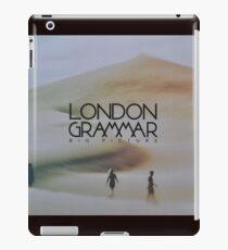 London grammar - big picture sleeve art - fanart iPad Case/Skin