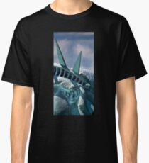 In The Ear Shot Of Lady Liberty Classic T-Shirt