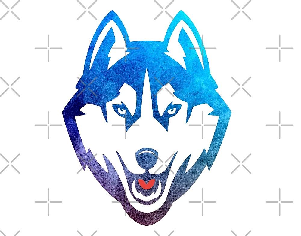 UCONN Husky Sticker by winternities