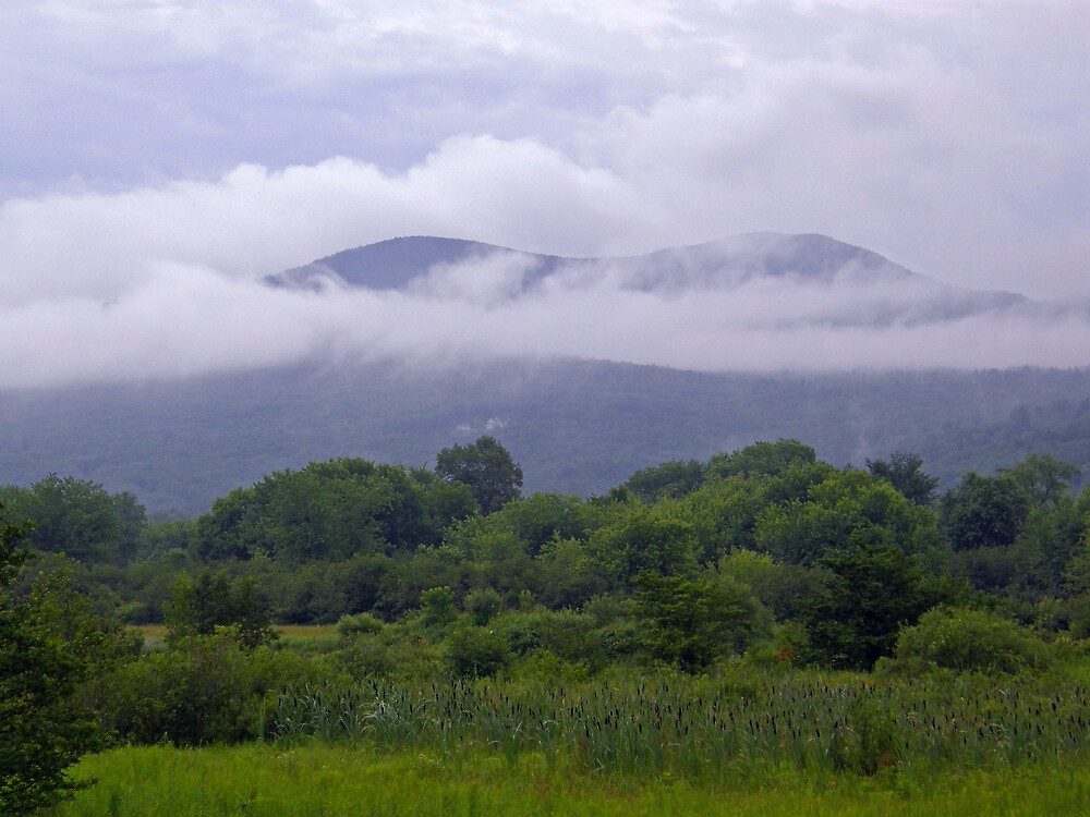 Foggy mountains by marchello