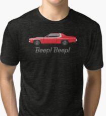 Red 1973 1974 runner Tri-blend T-Shirt