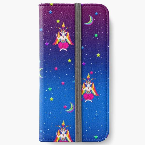 1997 Neon Rainbow Baphomet iPhone Wallet