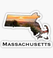 Massachusetts State Sticker