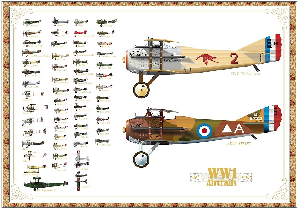 WW1 Planes - by dbo-design
