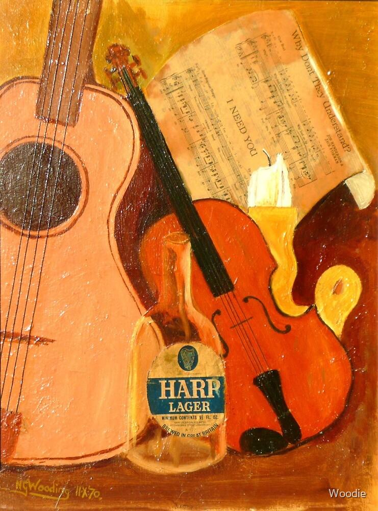 String Trio by Woodie