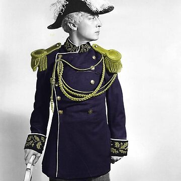 Admiral Buster Keaton, Half-Color, Colorization by nicoletteabides