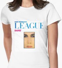 the human league dare Women's Fitted T-Shirt