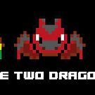 You have two dragons left. Pixel art by TrashTante