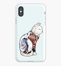 Kitsune Cat Tattoo Coque et étui iPhone