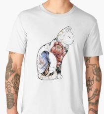 Kitsune Cat Tattoo  Men's Premium T-Shirt