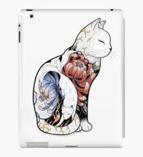 Kitsune Cat Tattoo  iPad Case/Skin