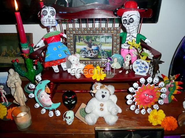 Day Of The Dead Altar 1 by seschell1