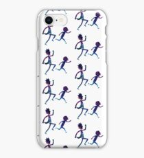 Rick and Morty Runng Galaxy - Multiple iPhone Case/Skin