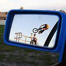 terry in his review mirror by Brodyn  Beveridge