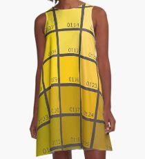 Shades of Yellow Pantone A-Line Dress