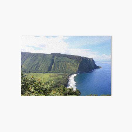 USA Hawaii Big Island Waipio ValleyTal der Könige Mountains Ocean Galeriedruck