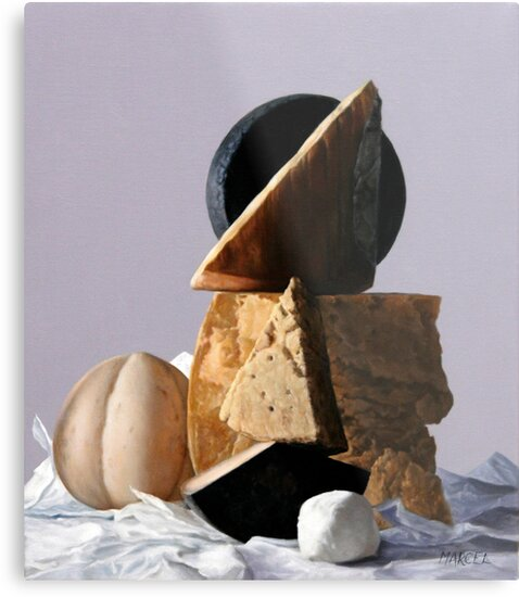 Cheese by marcelfineart