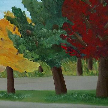 Beautiful Trees! by LajoieCreations