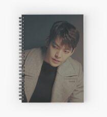 Kim Woo Bin Spiral Notebook