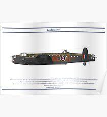 Lancaster 617 Squadron 11 Poster