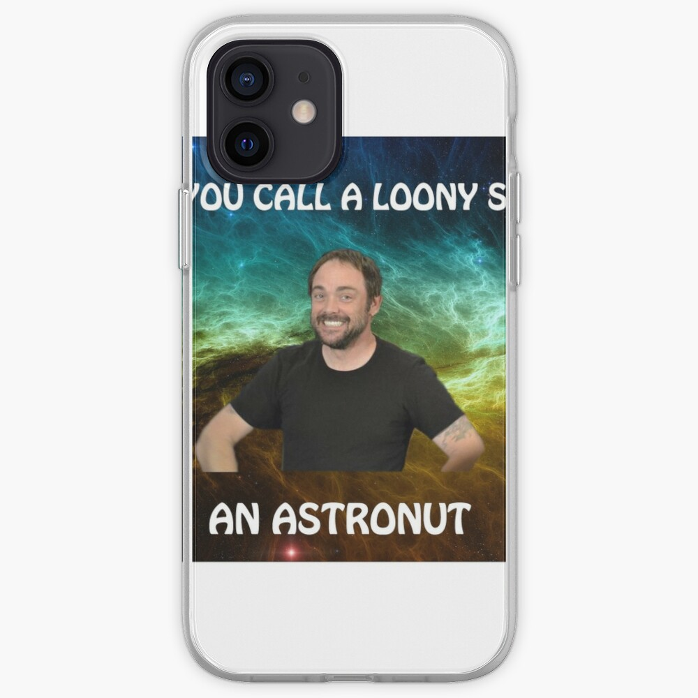 lame dad space joke with mark sheppard iPhone Case & Cover