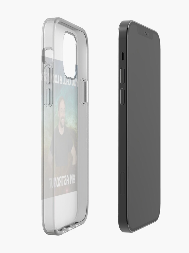 Alternate view of lame dad space joke with mark sheppard iPhone Case & Cover