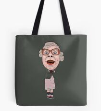 Tubbs League of Gentlemen Inspired Illustration Tote Bag