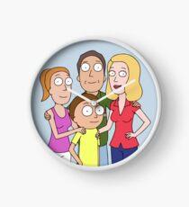 Smith Family Photo - Rick & Morty Clock